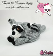 Rhysa the Raccoon - Forever Stitchin