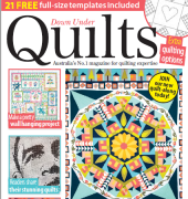 Down Under Quilts - Issue 184 - 2018 - Practical Publishing