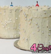 Rainbow Colored Candle Cakes - travelandeat