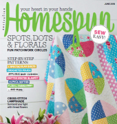 Australian Homespun - No.181 - vol. 19.06 - June 2018 - Universal Media Co