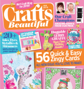 Crafts Beautiful - Issue 328 - January 2019 - Aceville Publications Ltd