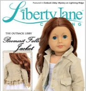 "Boomerit Falls Jacket - Fits 18"" Dolls - Liberty Jane Clothing"