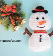 Snowman rag doll crochet - Passionatecrafter - Free