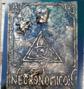 Necronomicon book - Me