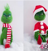 The Christmas Grouch - The Crochet Crazy Crew