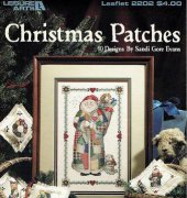 Christmas Patches - Leaflet 2201 - Sandi Gore Evans -Leisure Arts