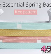 The Essential Spring Basket - Snapdragon Studios - Dear Stella - Free