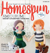 Australian Homespun - No.185 - vol. 19.10 - October 2018 - Universal Media Co