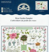 Rose Garden Sampler - XC0991 - DMC