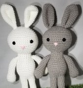 JJ and Pals Dusty the Bunny - Kelli Jos Newcome - Kelli's Kreations