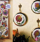 Tree of Life - Jacobean Bellpull - The World of Cross Stitching - October 2009