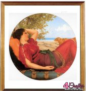 In Realms of Fancy - Godward's Flights of Fancy - John William Godward - Odds and In's