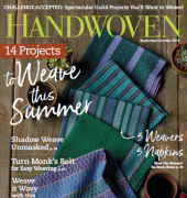 Handwoven – Vol 39 Number 4 - Sep Oct 2018 - Interweave Press