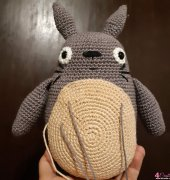 Grey Totoro is almost there