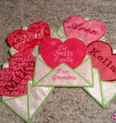 Valentines for my granddaughter - etsy