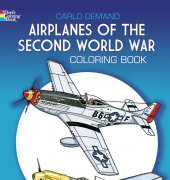Airplanes Of The II World War - 2000 - Carlo Demand - Dover publishing
