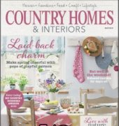 Country Homes And Interiors May 2015 - belinda cooper