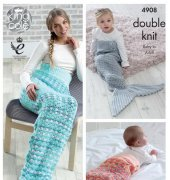 Mermaid Tails - King Cole 4908