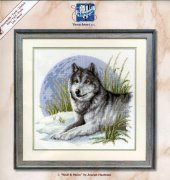 Wolf And Moon - 70165 - Vervaco