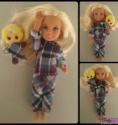 Pajamas with doll for Chelsea - Gingermelon-Paloma Rocha