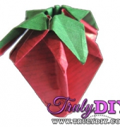 Origami Strawberry Video Tutorial - free