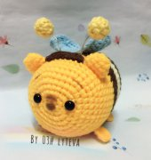 Crochet Activity ~ Tsum Tsum Winnie the Pooh in Honey Bee Costume