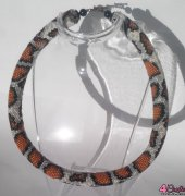 Bead crochet necklace_6