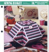 Sewing Basket - Christina Musgrave - Annies Plastic Canvas Club - free