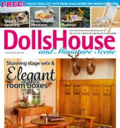 Dollshouse and Miniature Scene – Issue 254 - July 2015 – Warner Group Publications