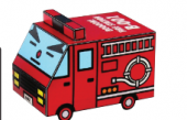 Burne, Firetruck - BoooN! City - 007 - Sorairo and isDesign - Japanese - Free