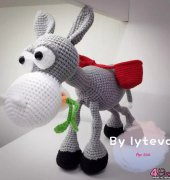 Crochet Activity ~ Dusty the Donkey