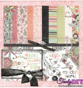 Modish Girl Kit - Shabby Princess