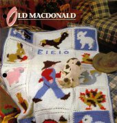 Old MacDonald - Jane Sampson - Annies Crochet Quilt Afghan Club