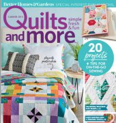 Quilts and More - Summer 2018 - Better Homes and Gardens Special Interest Publication - Meredith Media Group
