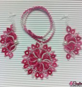 parure fuxia for my friend - corina meyfeldt