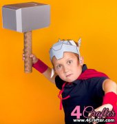 Thor Hammer - Disney Family - Free - English