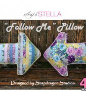Follow Me Pillow - Snapdragon Studios - Dear Stella - Free