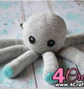Plush octopus - Bethany Dearden - Whistle and Ivy - Free