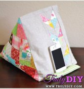 General Construction Notes for Use with Tablet Stand Tutorial - Girl Friday Sews - Pixels to Patchwork - Free