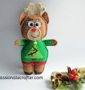 Ruby the reindeer ragdoll - Passionatecrafter - Free