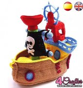 Pirate Ship - Gretel Crespo - Sueños Blanditos - Spanish
