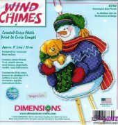Snowmans Best Friend - 8769 - Wind Chimes - Brian Jackins - Dimensions
