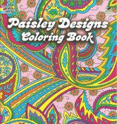 Paisley Designs Coloring Book - 2008 - Marty Noble - Dover Publications