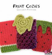 Fruit Cozies- Julie King - Gleeful Things Crochet