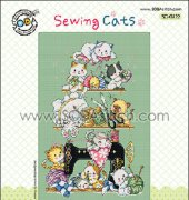 Sewing Cats - SO-G122 - SODA - Korean