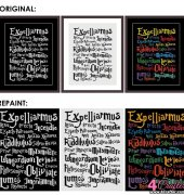 Harry Potter Spells - CrossStitch For You