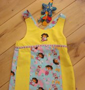 dora dress - streekje