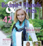 Beanies, Shawls and Scarves Magazine - Volume 3 Number 4 - 2017 - Woodlands Publishing