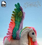 Pegasus - Megan Lapp - Crafty Intentions - Spanish