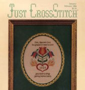 Just CrossStitch - Vol. 1 No. 5 - January-February 1984 - Hoffman Media Inc.